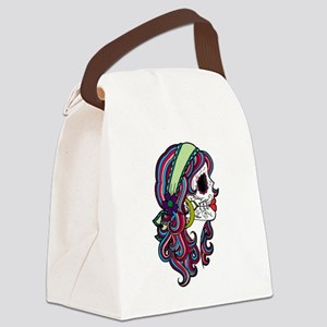 Sugar Skull 070 Canvas Lunch Bag